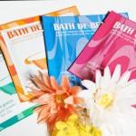 4種類の入浴剤